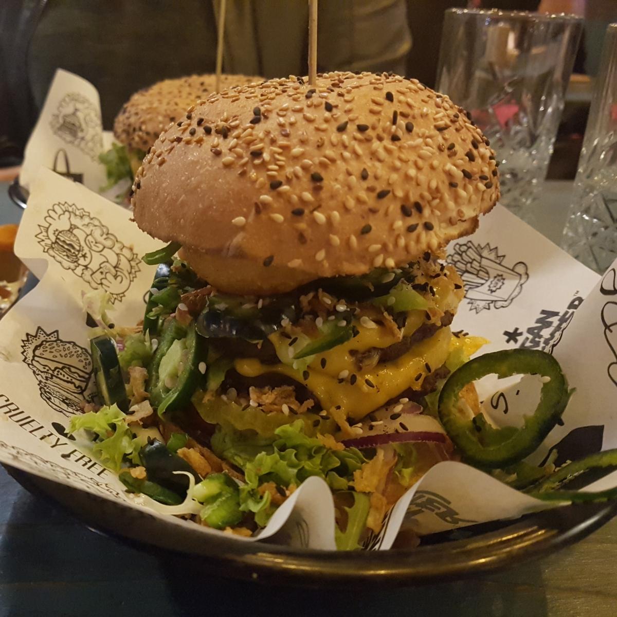 Vegan Junkfood bar |Amsterdam